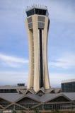 lotniskowa wieża kontrolna Zdjęcia Royalty Free