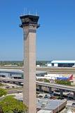 lotniskowa wieża kontrolna Fotografia Stock