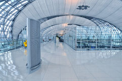 lotniskowa wyjściowa brama Zdjęcia Stock