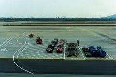 Lotniskowe bagaż fury 2 obraz stock