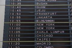 Lotniskowi odjazdy zdjęcia stock