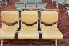 lotniskowi puste siedzenia Zdjęcia Royalty Free