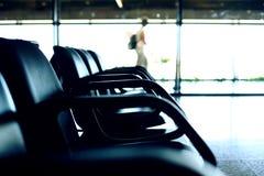 lotniskowi siedzenia Obrazy Stock
