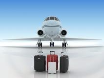Lotniskowi suitecases Fotografia Stock