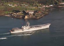 Lotniskowiec Principe de Asturias Obraz Stock