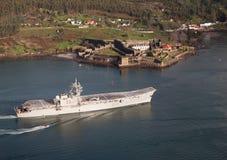 Lotniskowiec Principe de Asturias Obrazy Royalty Free