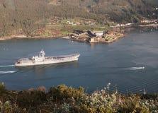 Lotniskowiec Principe de Asturias Zdjęcie Royalty Free