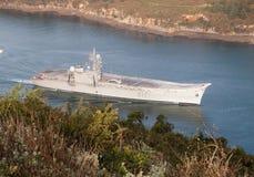 Lotniskowiec Principe de Asturias Zdjęcia Royalty Free