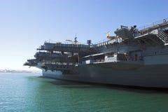 lotniskowiec San Diego. Fotografia Royalty Free