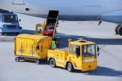 lotniskowy bagaż Zdjęcia Stock
