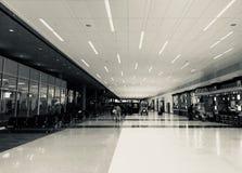 Lotniskowy bramy Terminal Zdjęcia Royalty Free