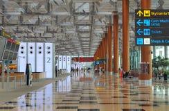 lotniskowy Changi Singapore Obraz Stock