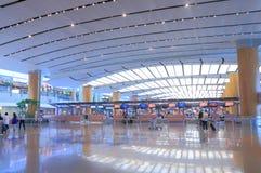 lotniskowy Changi Singapore Fotografia Royalty Free