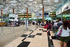 lotniskowy Changi Singapore Zdjęcia Stock