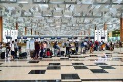 lotniskowy Changi Singapore Zdjęcie Stock