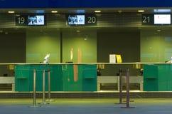lotniskowy checkin Zdjęcie Royalty Free