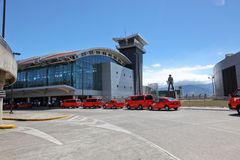 lotniskowy cr Jose San Obraz Stock