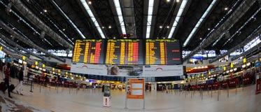 lotniskowy czek Prague Obrazy Stock