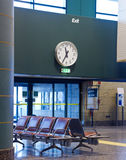 Lotniskowy czekanie teren Fotografia Royalty Free