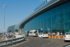 lotniskowy domodedovo Moscow Obraz Royalty Free