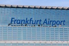lotniskowy Frankfurt Obrazy Royalty Free
