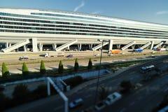 lotniskowy Frankfurt staci pociąg Obrazy Royalty Free