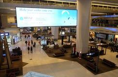 lotniskowy gandhi indira zawody międzynarodowe delikatesy obraz stock