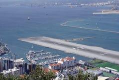 lotniskowy Gibraltar Obrazy Stock