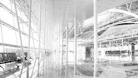 Lotniskowy hol Fotografia Royalty Free