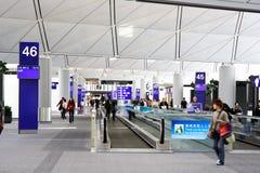 lotniskowy Hong zawody międzynarodowe kong Obraz Royalty Free