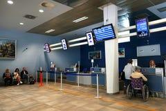 lotniskowy izbowy czekanie Zdjęcia Royalty Free