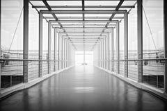 lotniskowy korytarz Obraz Royalty Free
