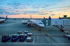 lotniskowy międzynarodowy Sheremetyevo Zdjęcie Royalty Free