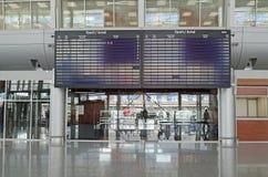 lotniskowy międzynarodowy Lviv Fotografia Stock
