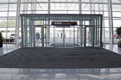 lotniskowy międzynarodowy Lviv Obrazy Royalty Free