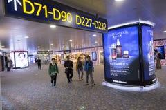 lotniskowy międzynarodowy pudong Shanghai Fotografia Royalty Free