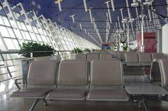 lotniskowy międzynarodowy pudong Shanghai Obrazy Stock