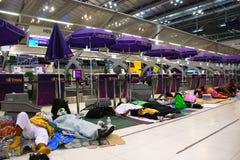 lotniskowy międzynarodowy suvarnabhumi Fotografia Stock