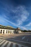 Lotniskowy niebo i droga Zdjęcia Stock