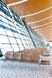 lotniskowy porcelanowy hol Zdjęcia Royalty Free
