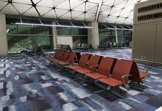lotniskowy sala Hong zawody międzynarodowe kong Obraz Royalty Free