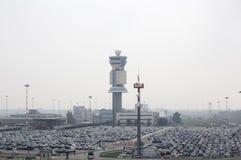 lotniskowy samochodowy parking Zdjęcie Royalty Free
