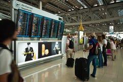 lotniskowy suvarnabhumi Obrazy Stock