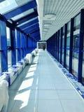 Lotniskowy terminal w budowie Obrazy Royalty Free