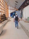 Lotniskowy terminal w budowie Zdjęcie Stock