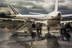 Lotniskowy Weeze, Niederrhein, Niemcy fotografia stock