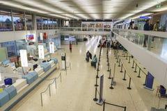 Lotniskowy wnętrze w Genewa Zdjęcie Royalty Free