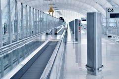 lotniskowy wyjściowy śmiertelnie przejście Obraz Stock