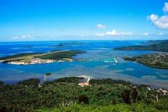 lotniskowy wyspy Micronesia pohnpei Zdjęcia Royalty Free