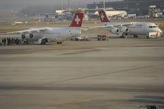 Lotniskowy Zürich Fotografia Stock